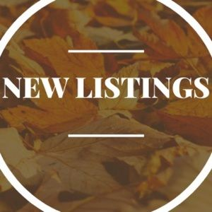CHECK OUT OUR NEW LISTINGS! 